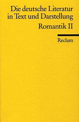 Die deutsche Literatur 9 / Romantik 2.: Hans-Jürgen. Schmitt