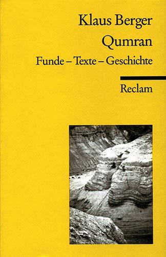 9783150096680: Qumran. Funde - Texte - Geschichte.