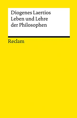 9783150096697: Leben und Lehre der Philosophen.