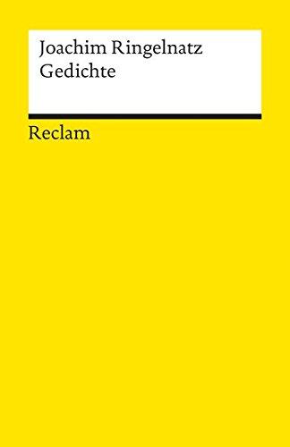 Gedichte: Ringelnatz, Joachim