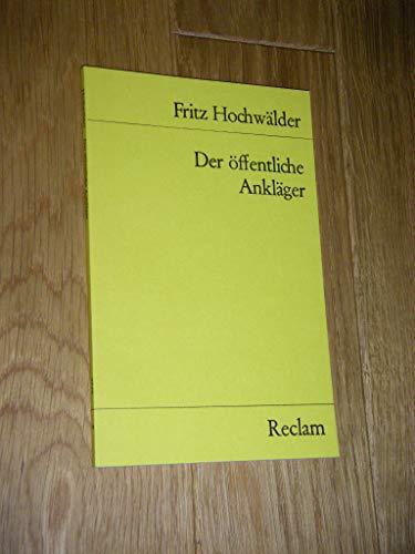 Der Offentliche Anklager: Hochwalder
