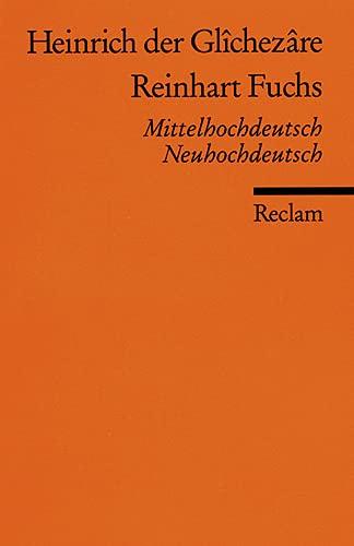 9783150098196: Reinhart Fuchs