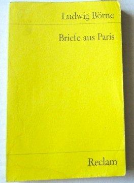 9783150098509: Briefe aus Paris (Universal Bibliothek ; Nr. 9850) (German Edition)
