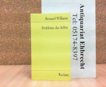 9783150098912: Probleme des Selbst. Philosophische Aufsätze 1956-1972