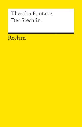 9783150099100: Der Stechlin