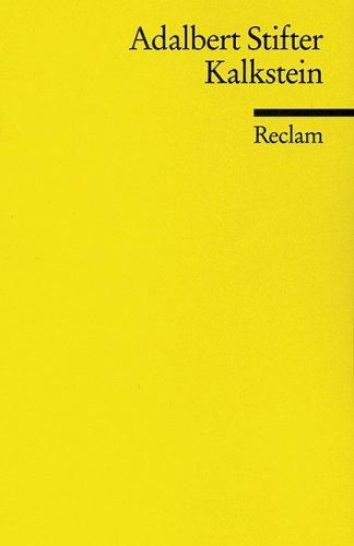 9783150099322: Kalkstein (German Edition)