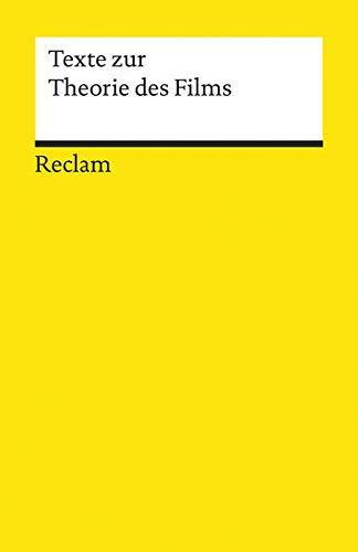 9783150099438: Texte zur Theorie des Films (Universal-Bibliothek ; Nr. 9943) (German Edition)
