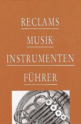 9783150103494: Reclams Musikinstrumentenführer
