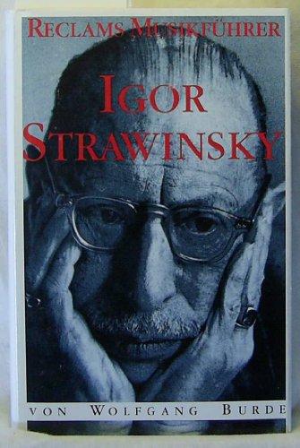 9783150104156: Igor Strawinsky (Reclams Musikfuhrer) (German Edition)