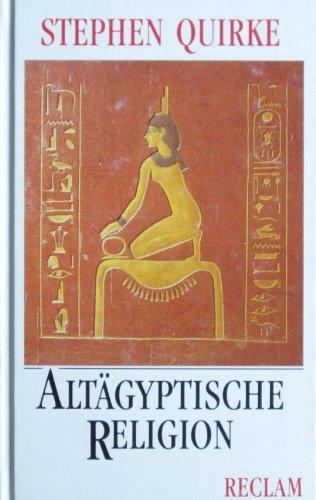 9783150104194: Altägyptische Religion