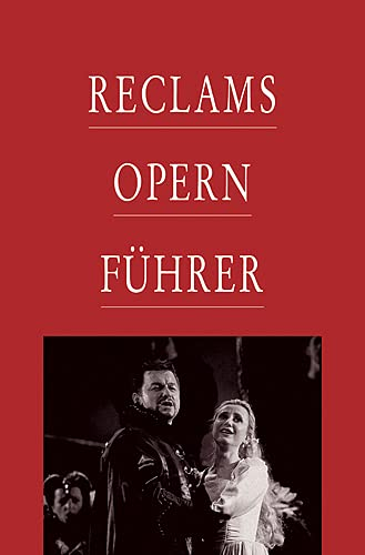 9783150105115: Reclams Opernführer