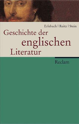 9783150105566: Geschichte der englischen Literatur.