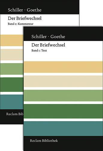 9783150107386: Der Briefwechsel: Text und Kommentar in zwei Bänden