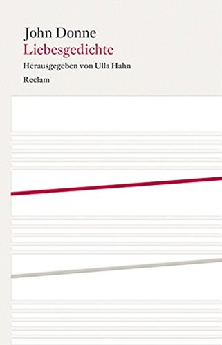 9783150108161: Liebesgedichte: Englisch / Deutsch
