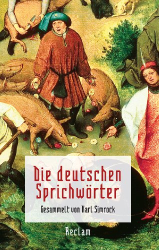 9783150108277: Die deutschen Sprichwörter