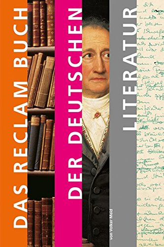 9783150108819: Das Reclam Buch der deutschen Literatur