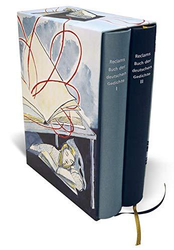 Reclams Buch Der Deutschen Gedichte 2 Bde Von Detering
