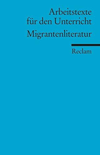 9783150150597: Migrantenliteratur
