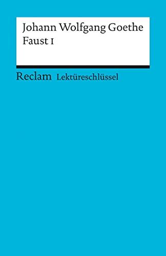 9783150153017: Faust 1. Lektüreschlüssel für Schüler