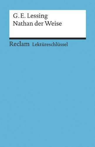 9783150153161: Nathan der Weise. Lektüreschlüssel für Schüler