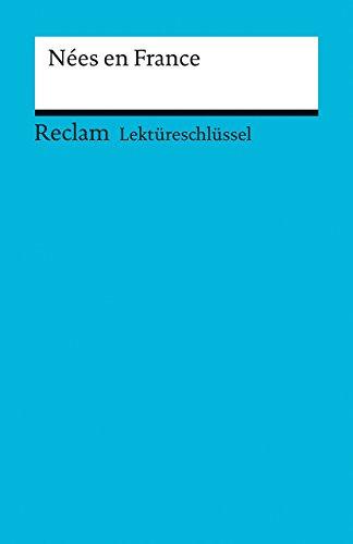 Lektureschlussel zu Nees en France: Pia Keler, Tulin