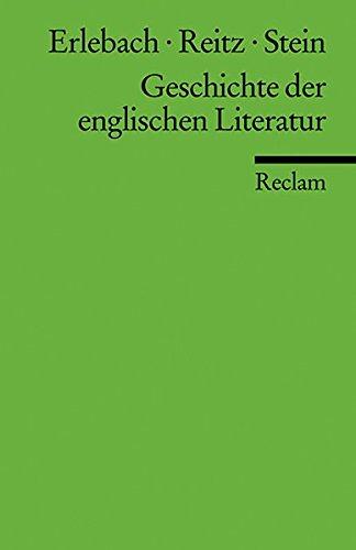 9783150176689: Geschichte der englischen Literatur