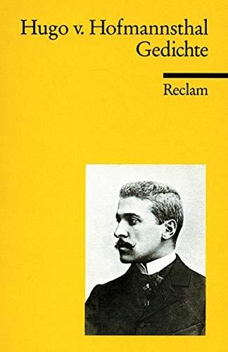 Gedichte: Hofmannsthal, Hugo Von