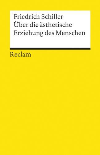 9783150180624: Über die ästhetische Erziehung des Menschen in einer Reihe von Briefen.