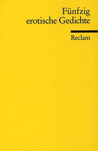 Fünfzig erotische Gedichte: Abel, Wolfgang