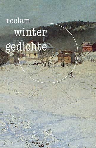 9783150181072: Wintergedichte.