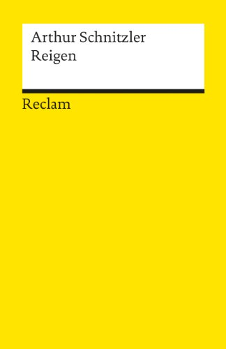 9783150181584: Reigen: Zehn Dialoge