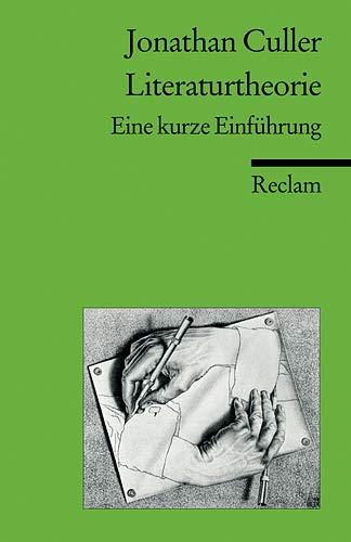9783150181669: Literaturtheorie. Eine kurze Einführung.