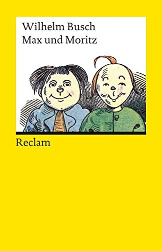 9783150182185: Max und Moritz (Reclam Universal-Bibliothek)