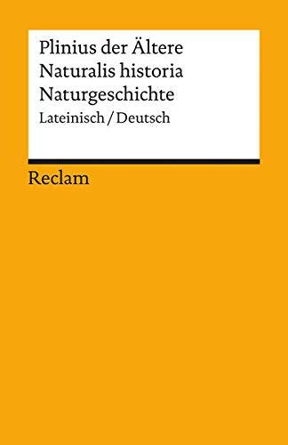 9783150183359: Naturalis historia / Naturgeschichte.