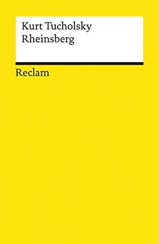 9783150183892: Rheinsberg: Ein Bilderbuch für Verliebte