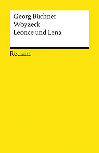 9783150184202: Woyzeck /Leonce und Lena
