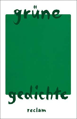 9783150184233: Grüne Gedichte