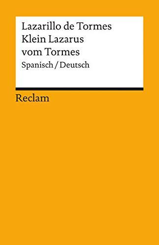 9783150184813: Lazarillo de Tormes / Klein Lazarus vom Tormes: Spanisch / Deutsch