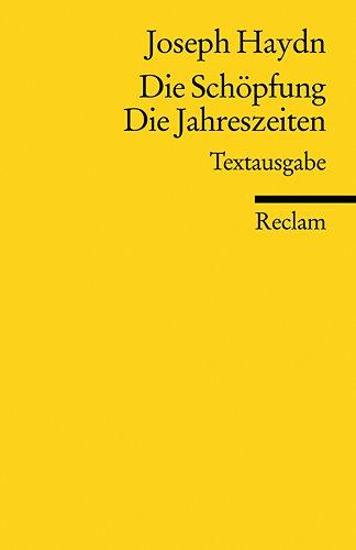 Die Schöpfung. Die Jahreszeiten (3150185092) by Joseph Haydn