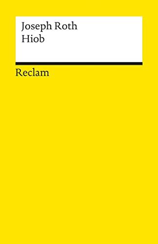 9783150185322: Hiob: Roman eines einfachen Mannes