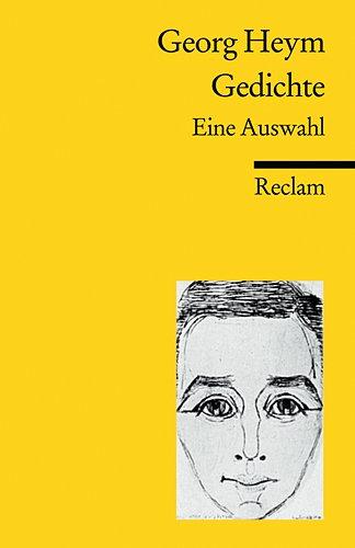 9783150185810: Gedichte: Eine Auswahl (Reclam Universal-Bibliothek)