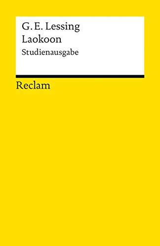 9783150188651: Laokoon oder Über die Grenzen der Malerei und Poesie: Studienausgabe