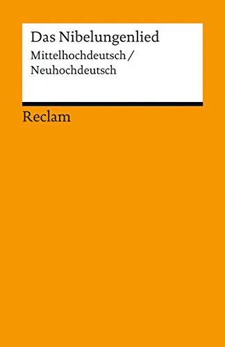 9783150189146: Das Nibelungenlied: Mittelhochdeutsch/Neuhochdeutsch