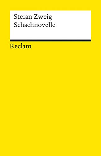 9783150189337: Schachnovelle (Reclam Universal-Bibliothek)
