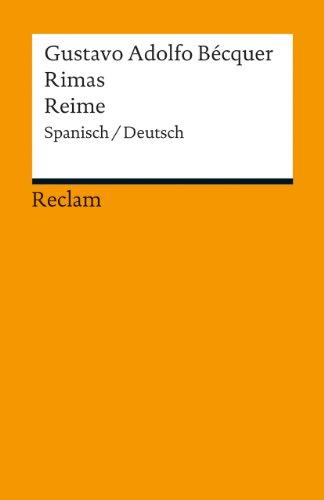 9783150191040: Rimas / Reime: Spanisch/Deutsch