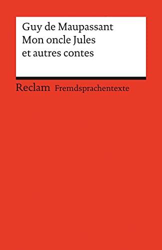 9783150197110: Mon oncle Jules et autres contes: 19711