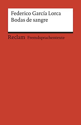 Bodas de sangre (Paperback): Federico Garcia Lorca