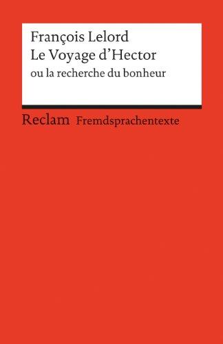 9783150197219: Le Voyage d'Hector ou la recherche du bonheur