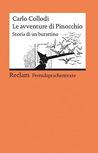 Le avventure di Pinocchio: Storia di un burattino (9783150197493) by Collodi, Carlo