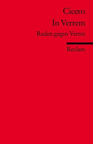 9783150197790: In Verrem: Reden gegen Verres